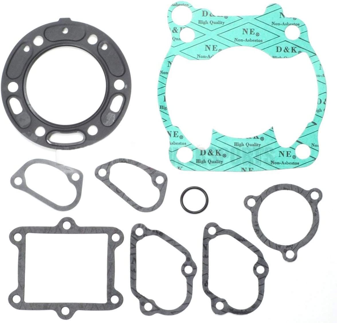 Top End Rebuild Head Cylinder Gasket Kit Honda CR125 CR 125 R 1990-1998