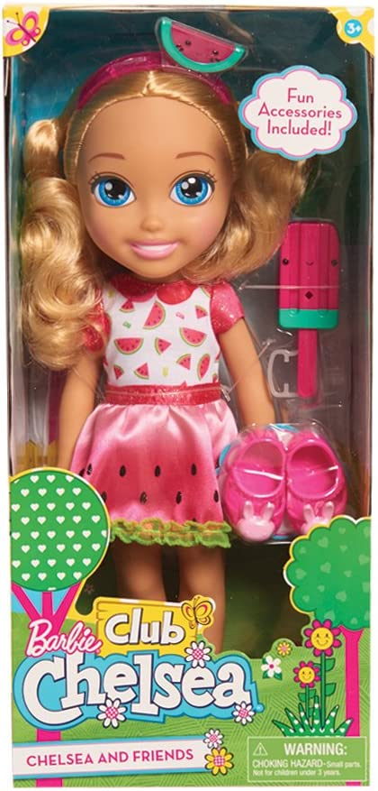 Amazon Com Barbie Chelsea Doll Toys Games