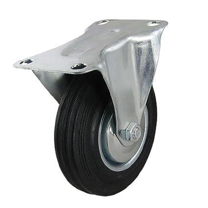 12,7 cm de diámetro placa metálica fija ruedas para rodar de Industrial