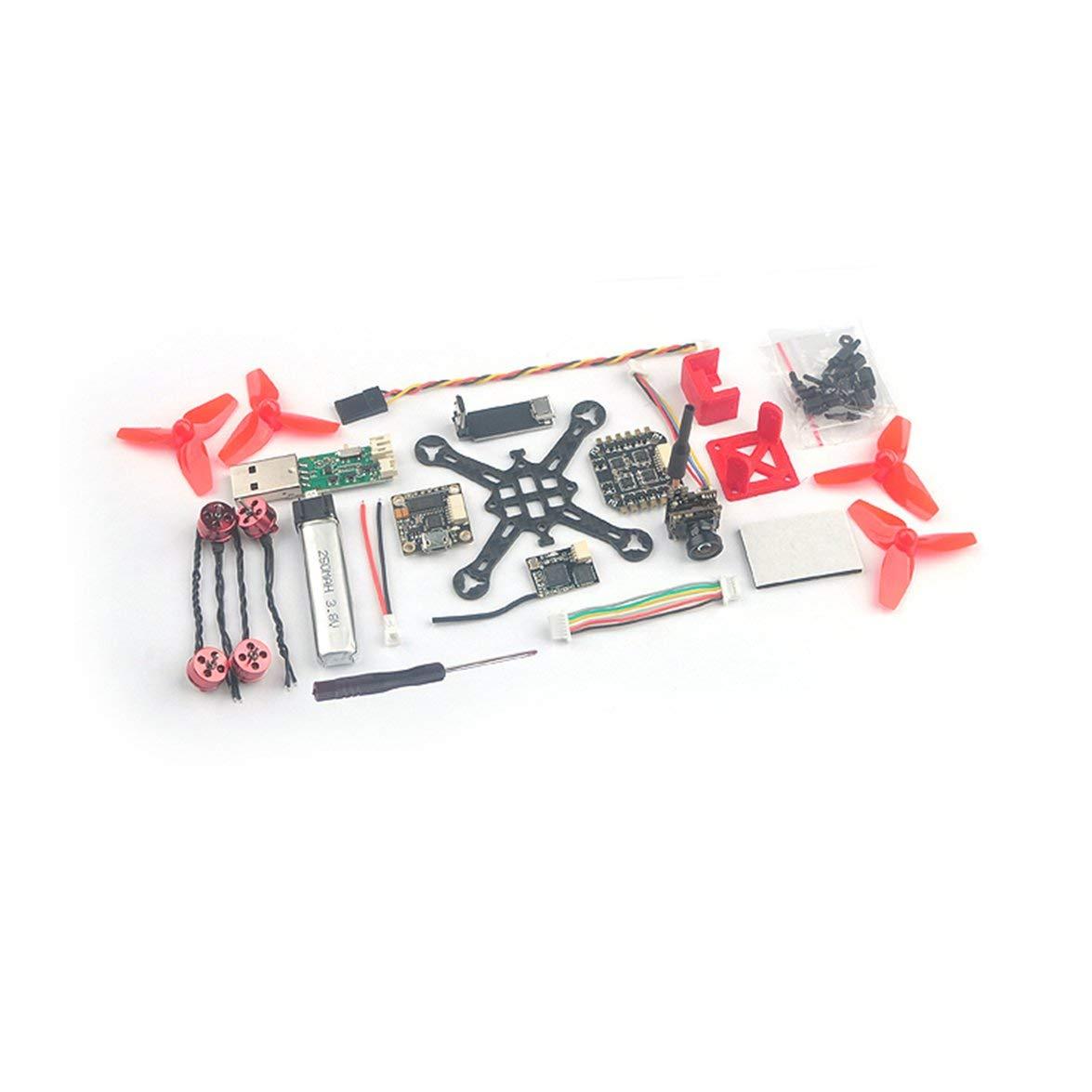 Kongqiabona Happymodel Trainer66 Mini 66mm 1S RC FPV Racing Drohne mit Betaflight OSD PNP-Version Kompatibel mit Flysky FS-RX2A Por-Empfänger