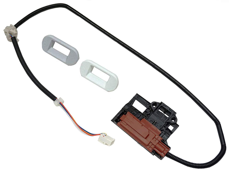 ワッシャー蓋ロックラッチ Whirlpool WTW4950XW3対応   B07K2364GG