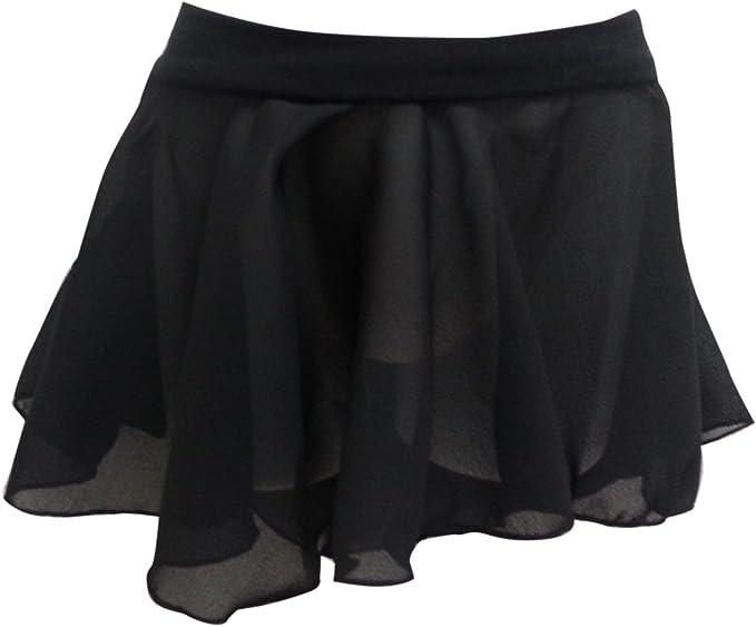 Basic Moves Little Girls Georgette Ballet Skirt Pull-on Skirt Active Skirts