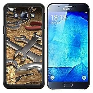 EJOOY---Cubierta de la caja de protección para la piel dura ** Samsung Galaxy A8 A8000 ** --Herramienta Llave Resumen