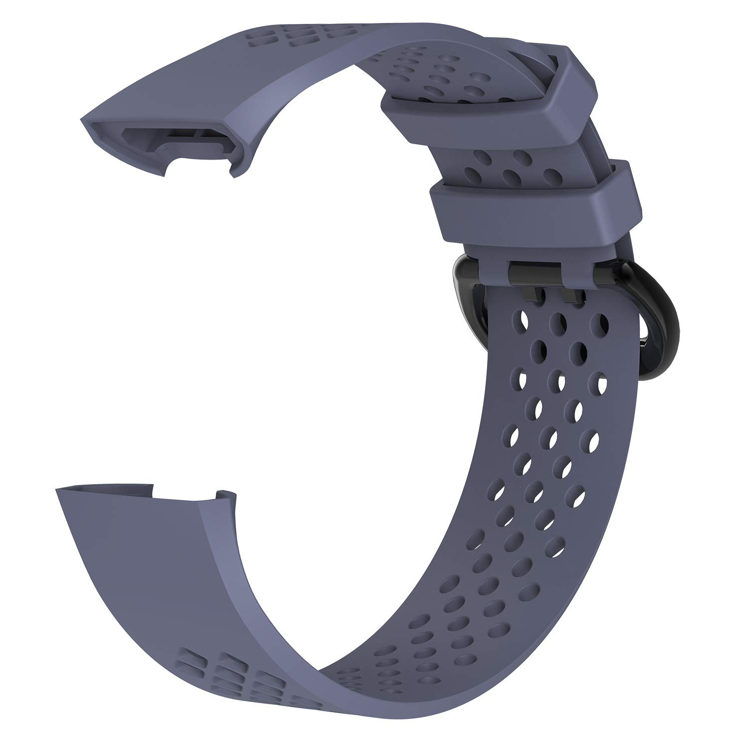 New Soft Silicone Replacement WatchBand Strap Band Wristband for Fitbit Charge 3 ZSZCXD Compatible for Fitbit Charge 3