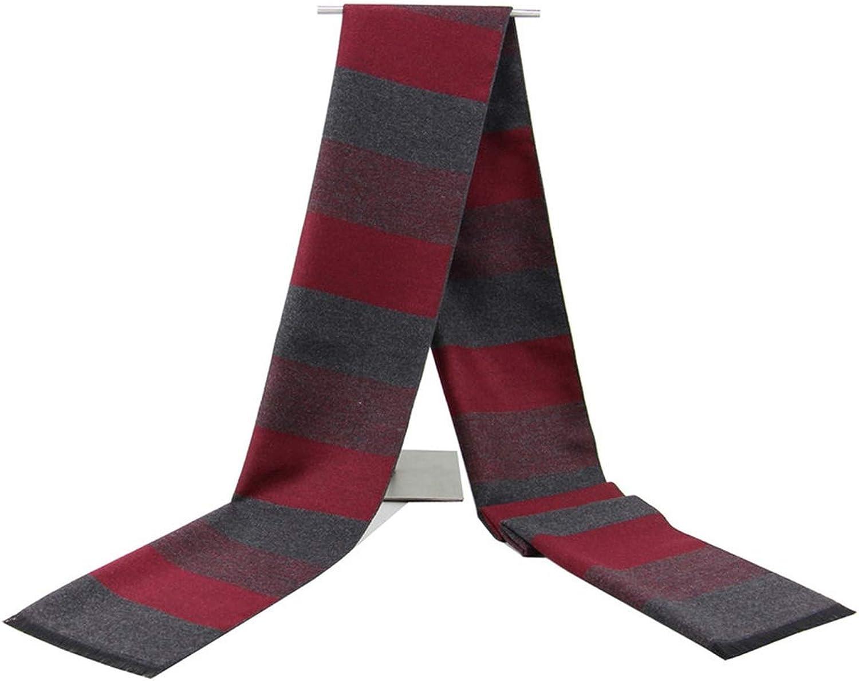 Casual Scarves Winter Mens Cashmere Scarf Warm Neckerchief Modal Scarves Men