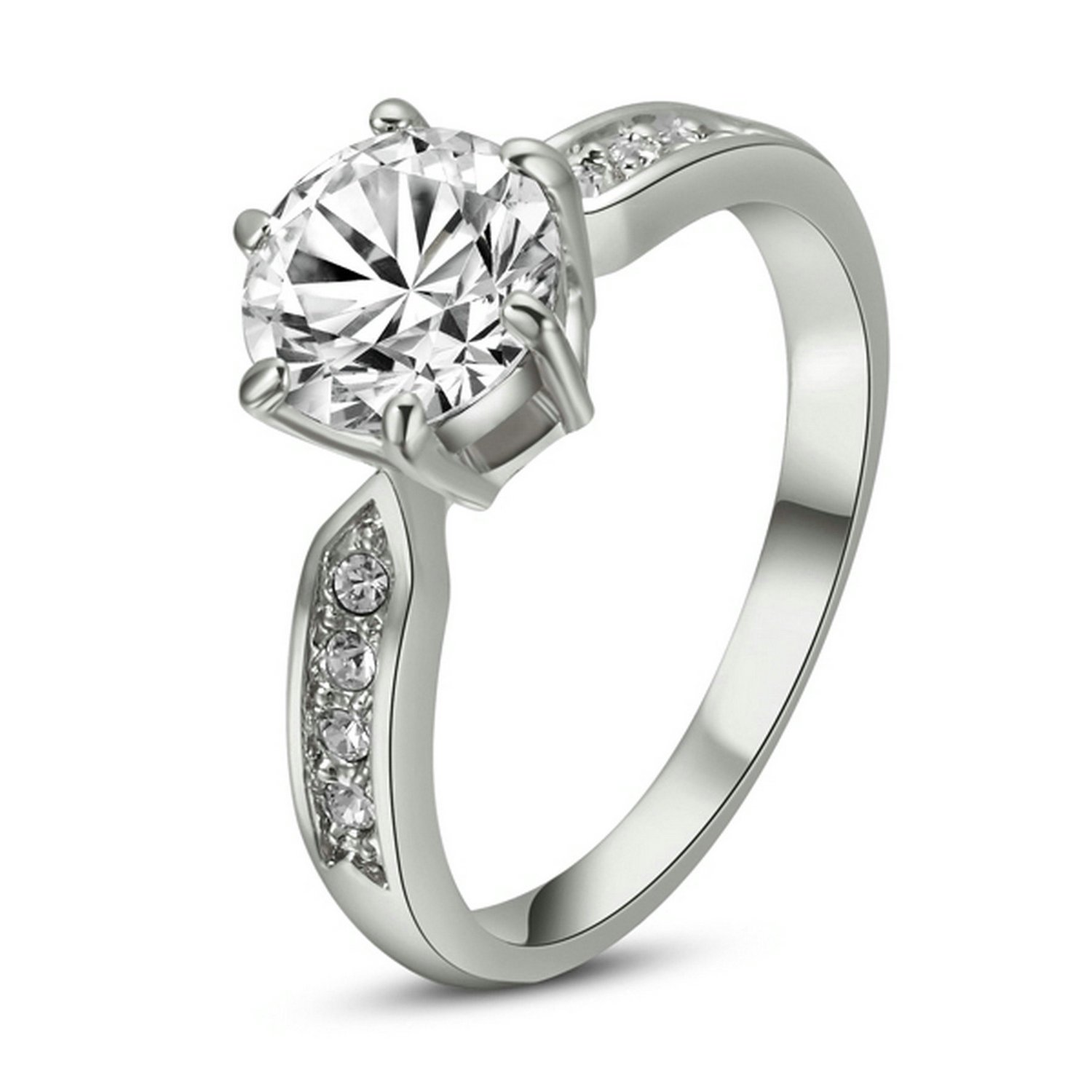 Awesome White Gold or Platinum Wedding Rings