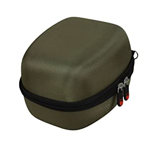Hermitshell EVA Hard Travel Case for Howard Leight Honeywell Impact Sport Sound Amplification Electronic Earmuff by