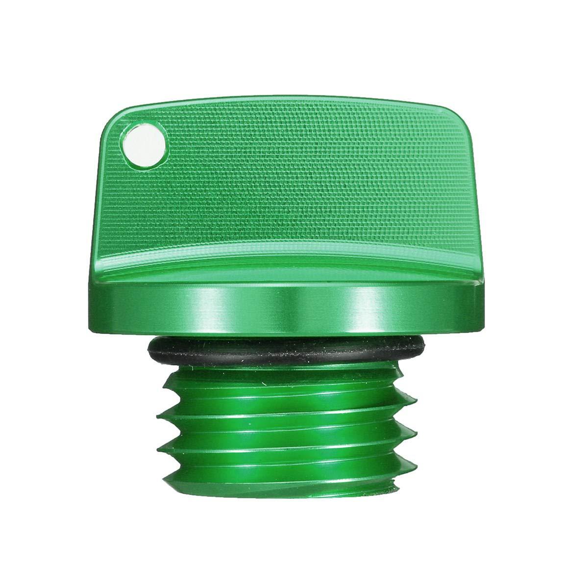 CNC Aluminum Oil Filler Cap Plug For Honda//Ducati//Yamaha//Kawasaki//Ninja//Triumph Black