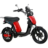 GIGABYKE GROOVE 48V 750W Eco-Friendly Electric Moped Scooter E-Bike- Red