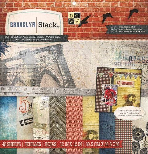 DCWV Brooklyn Stack, 12 by 12-inches ()