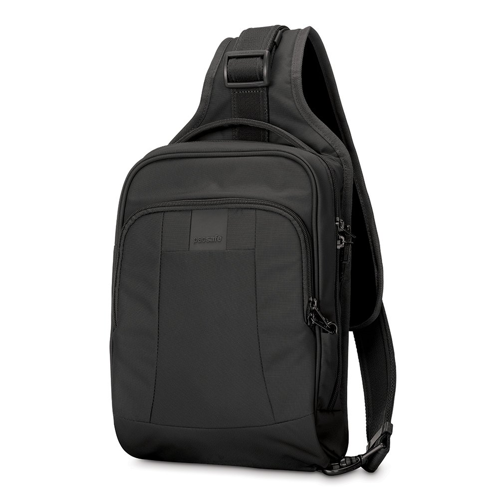 Pacsafe Metrosafe LS150 Anti-Theft Sling Backpack, Black by Pacsafe (Image #1)