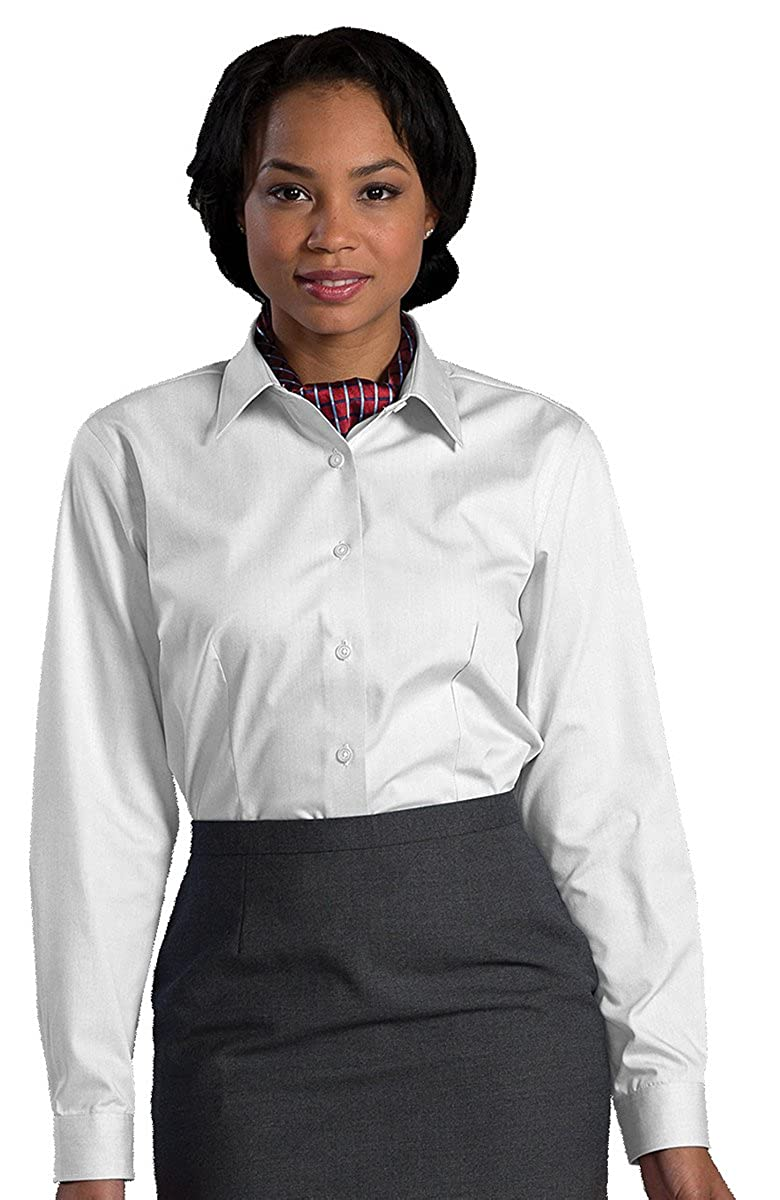Edwards Garment Womens Point Collar Non Iron Dress Shirt At Amazon
