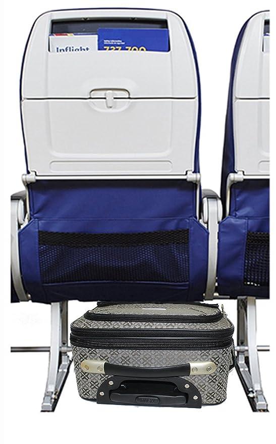 Amazon.com: Maleta personal con ruedas para debajo del asiento la puede usar para America. Frontier, Spirit: Clothing