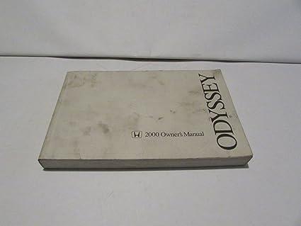 amazon com 00 2000 honda odyssey owners manual book guide 7549 rh amazon com Honda Odyssey Interior 2000 honda odyssey ex owners manual