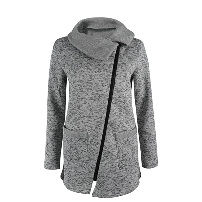 d1f6ce2a04 Cappotto Donna, Reasoncool Donna sportiva con cappuccio del cappotto ...