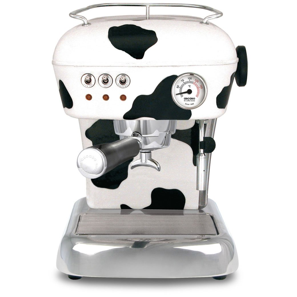 Ascaso Dream UP V3 Espresso Machine - Cow Print