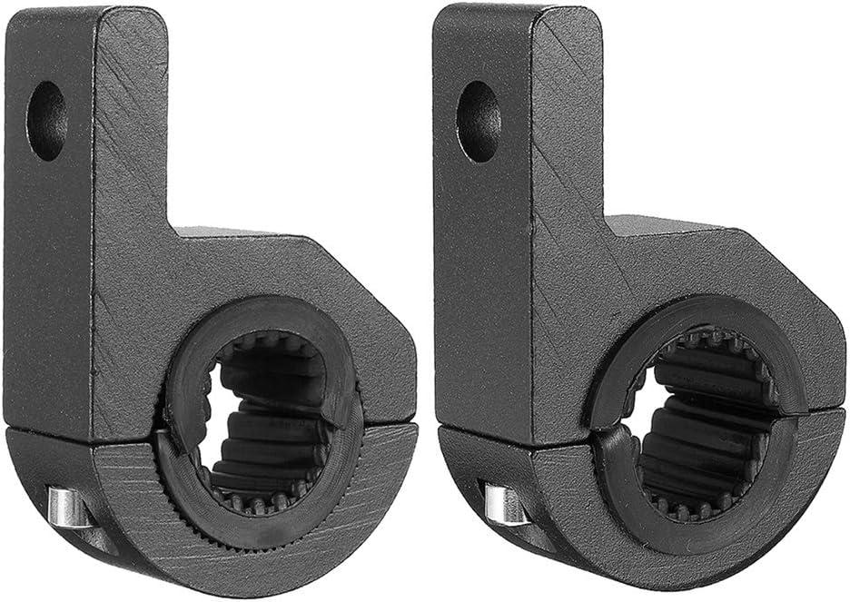 heacker 1 Paar Ersatz f/ür ATV UTV LKW Aluminium-LED-Arbeitsleuchte Bar Mounting Bracket Clamp Kit 25-32mm