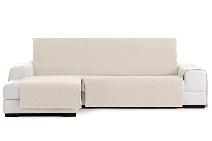 Jarrous Funda Cubre Chaise Longue Práctica Impermeable Modelo Córdoba, Color Crudo-00, Medida Brazo Derecho – 290cm (Mirándolo de Frente)