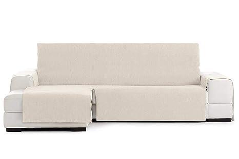 Jarrous Funda Cubre Chaise Longue Práctica Impermeable Modelo Córdoba, Color Crudo-00, Medida Brazo Izquierdo – 240cm (Mirándolo de Frente)