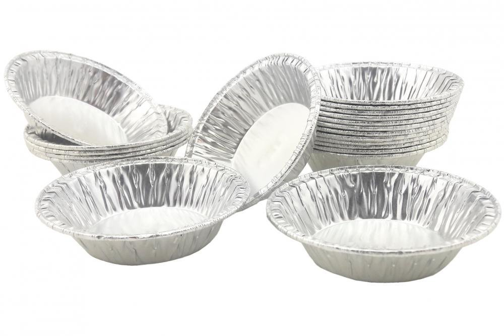 "Disposable Foil 2-15/16"" Very Small Baking Pans For Mini Pie /Tart Pans 50 Pcs."
