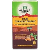 Organic India Turmeric Ginger Tulsi Tea 25 Teabags