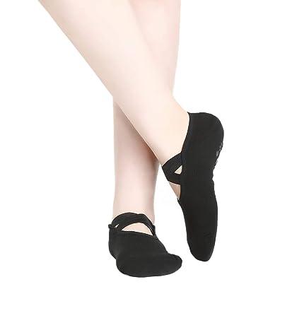 Yuccer Calcetines Yoga Antideslizantes Mujer, Yoga Socks ...