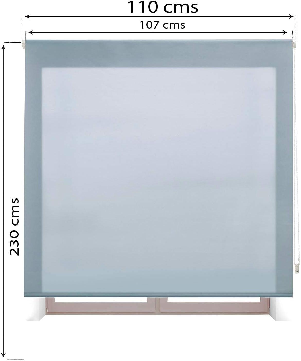 110x175 cm Beige Estoralis Aral Estor Enrollable Liso