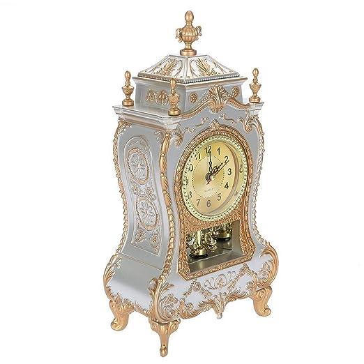 MAGT Reloj Vintage, Reloj De Mesa De Plástico De Estilo Vintage ...