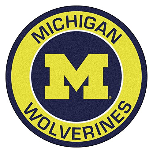 - FANMATS 18619 University of Michigan Roundel Mat