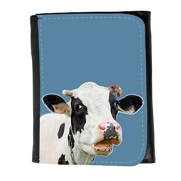 Cartera para hombre // Q05710600 Vaca curiosa Azul fuerza ...