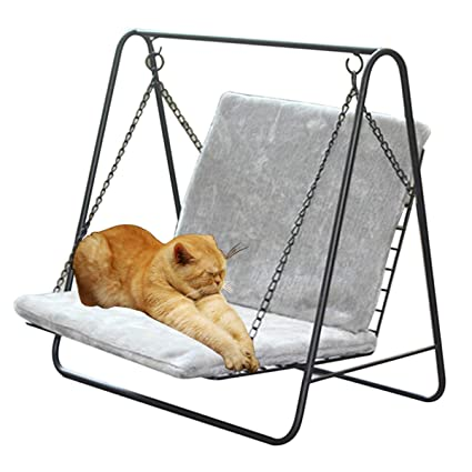 Groovy Amazon Com Cuddly Dog Sofa Pet Swing Iron Frame Rocking Squirreltailoven Fun Painted Chair Ideas Images Squirreltailovenorg