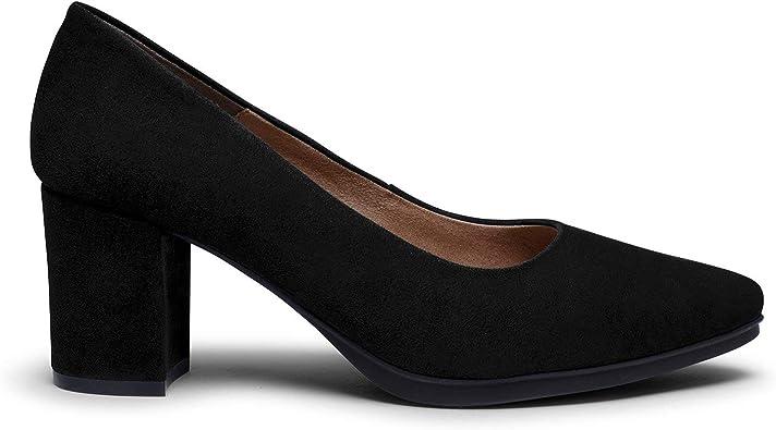 Zapatos miMaO. Zapatos de Piel Hechos en España. Urban S. Salones de Mujer Elegantes Otoño Invierno. Zapatos Cómodos Plantilla Gota Ultra Confort Gel: Amazon.es: Zapatos y complementos