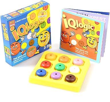 Puzzle di Logica IQ Giocattoli Educative per Bambini di 3+