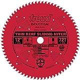 "Freud 12"" x 72T Thin Kerf Sliding Compound Miter Saw Blade (LU91R012)"