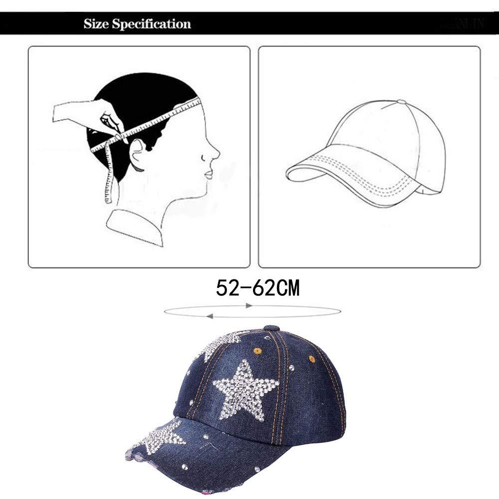Herren Damen Baseball Cap Sport M/ütze Kappe Hut Sonnenhut Baseball Hip Hop Cap Sommerhut Baseballm/ütze UV-Schutz Schnell Trocknend