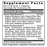 CardioVen TM 60 Capsules Vegan Product - Premier Botanical Complex with Fermented CoQ10 50 mg Trans Isomer Form for Premier Cardiovascular Support Discount