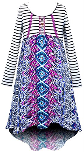 Smukke, Big Girls Printed Dress(Many Options) 7-16