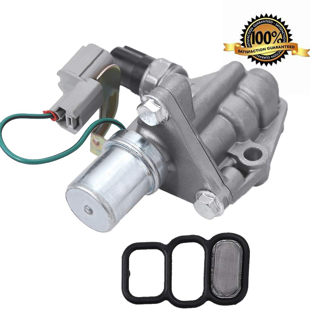 Hoypeyfiy Replaces for 1998-2002 Honda Accord 4Cyl VTEC Solenoid Spool Valve with Timing Oil Pressure Switch and Gasket 917-281 15810-PAA-A02