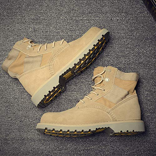 Shukun Herren Stiefel Paar Martin Stiefel, vielseitige Werkzeug Schuhe, Paar Modelle, Herren Kurze Tube Male