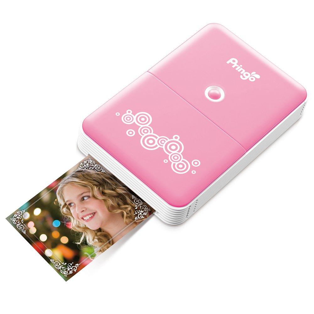 HITI Pringo Pink Portable Wi-Fi Printer P231