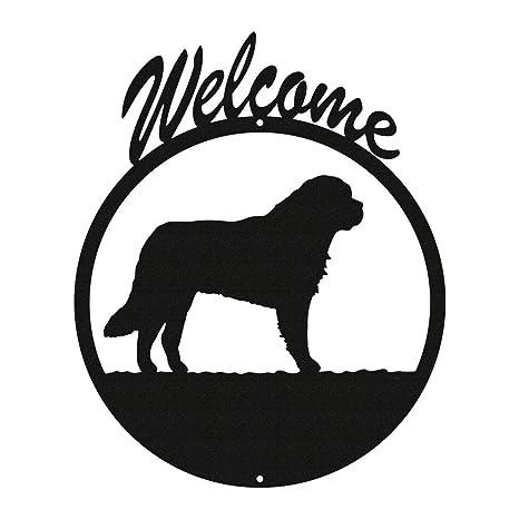 Saint Bernard Dog Metal Key or Leash Hanger *NEW*
