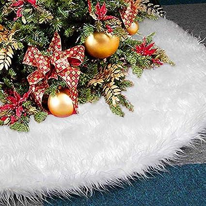 20a37e583a6 Amazon.com  AuLink Christmas Tree Skirts