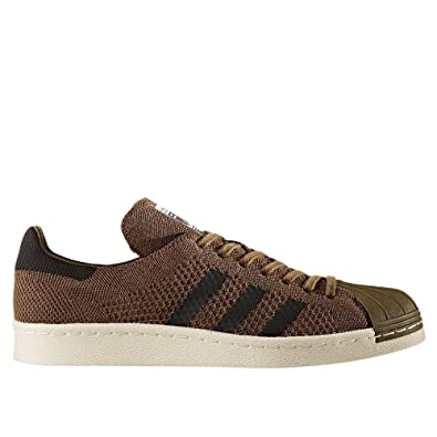 new styles 325cc fc292 adidas Superstar 80s Primeknit, Sneakers Basses Homme, Vert OliveCore  BlackTrace