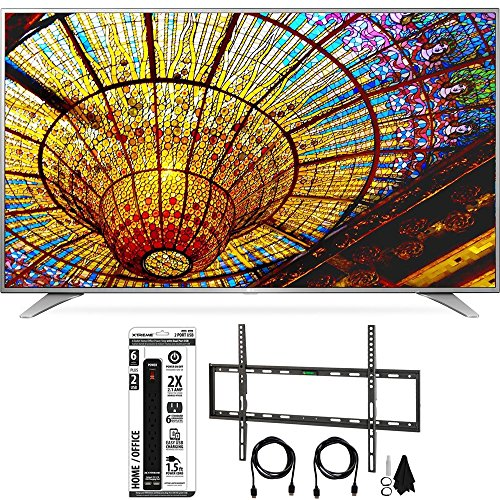 LG-65UH6550-65-Inch-4K-UHD-Smart-TV-w-webOS-30-Flat-Wall-Mount-Bundle-includes-Television-Flat-Wall-Mount-Ultimate-Kit-and-Power-Strip-with-Dual-USB-Ports