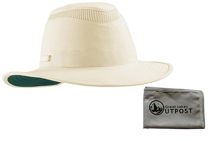 6e48d055b22 Tilley LTM6 Airflow Sun Outdoor Hat Bundle with Cloth at Amazon ...