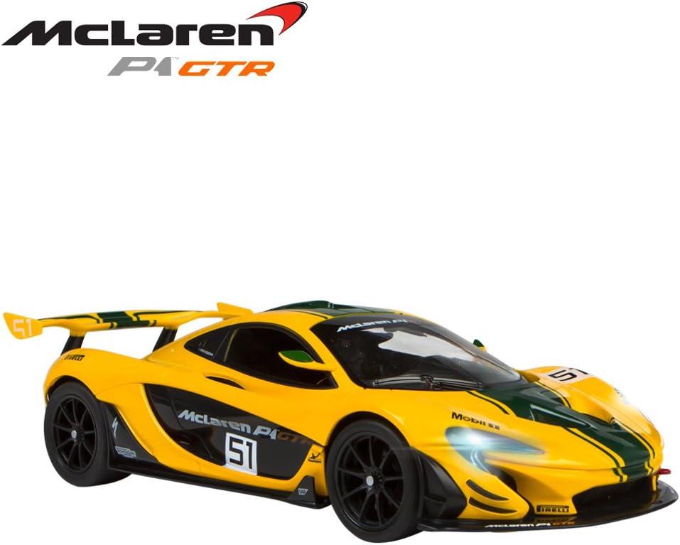 Rastar - Coche teledirigido 1:14 - McLaren P1 GTR (ColorBaby 41228): Amazon.es: Juguetes y juegos