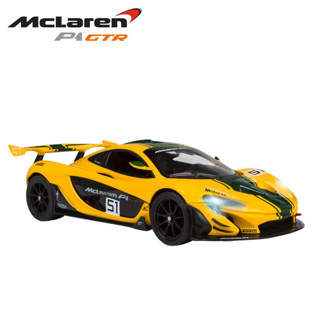 Rastar - Coche teledirigido 1:14 - McLaren P1 GTR (ColorBaby 41228)