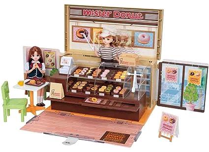 TOMY Rika-chan Donut Full Mister Donut Shop