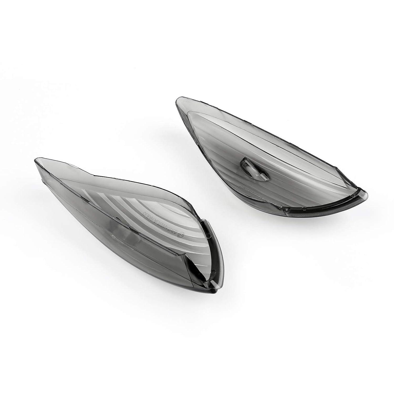 CBF600S Artudatech Moto Intermitentes Cubierta Indicadores Concha Anillo de Visera Indicadores Luces de Senal de Giro Cubrir para HON-DA CBF600