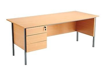 Eco bureau hippo desk trois tiroirs borne cm cm